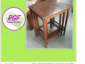 Sale Now On!! Nest of Three Tables- Local Delivery £19  in Lancing