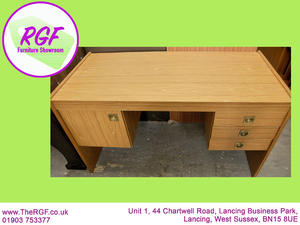 SALE NOW ON!! - Desk With Drawers & Cupboard - Local Delivery £!9 in Lancing