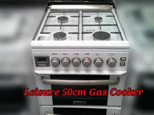 Leisure 50cm Double Oven Gas Cooker  in St. Leonards-On-Sea