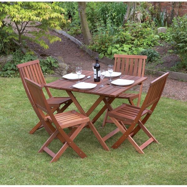victoria piece hardwood garden furniture set in eastbourne - Garden Furniture Eastbourne