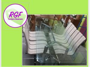FURTHER REDUCTION!! Glass Dining Table / Desk - Local Delivery £19 in Lancing