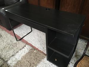 Black contemporary desk ... in Brighton