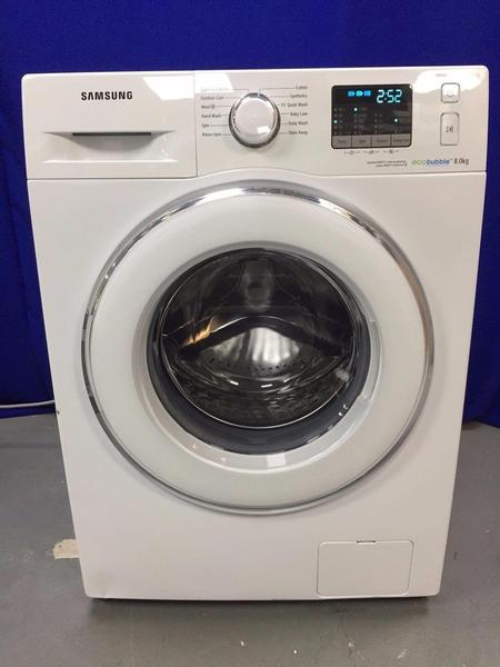 8kg samsung ecobubble washing machine a class 1 year old free local delivery in brighton. Black Bedroom Furniture Sets. Home Design Ideas