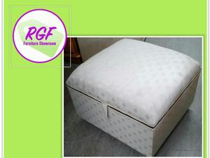 Sale Now On!! Footstool - For Reupholstery - Local Delivery £19  in Lancing