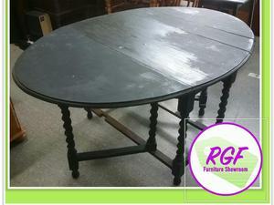Sale Now On Black Drop Leaf Dining Table