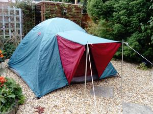 Eiger 2 freetime tent in Billingshurst & Second Hand Tents for Sale in Crawley | Friday-Ad