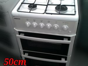 Beko Gas Cooker 50cm White Separate Grill in St. Leonards-On-Sea