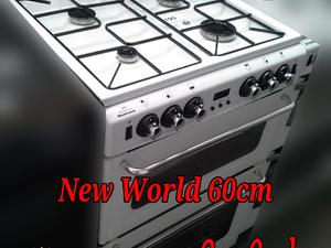 New World 60cm Gas Cooker Double Oven White  in St. Leonards-On-Sea