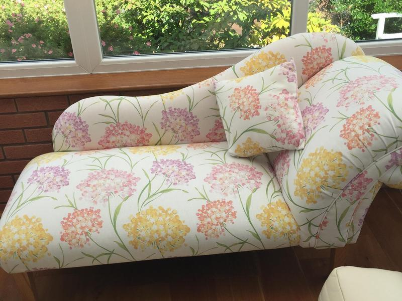 Chaise Lounge in Laura Ashley Gisselle in Brierley Hill Expired