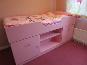 Children's Single Cabin Bed with Storage in Weston-Super-Mare