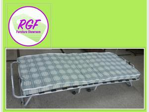 SALE NOW ON!! Fold-Up Guest Bed With Mattress - Local Delivery £19 in Lancing