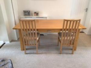 Dining Room Table 6 Chairs Matching Sideboard For Sale Or Can Be Sold Separately