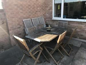 Garden Table And Chairs In BristolSecond Hand Furniture For Sale Downend Bristol Friday Ad