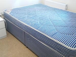 Double Divan Bed In Southsea