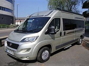 Auto Sleeper Peugeot Van Conversions Stanway 4 Berth 2015 Motorhome For Sale