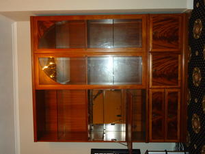 Meredew Illuminated Display Cabinet In Hartlepool