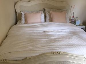 King Bed Mattress Shabby Chic In Gosport