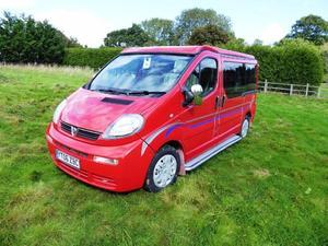 Vauxhall Vivaro Pop Top Motorhome Conversion 4 Berth 2006 For Sale In