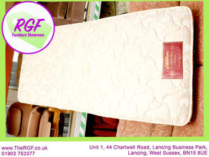 SALE NOW ON!! - Nestledown Single Mattress - Local Delivery £19 in Lancing