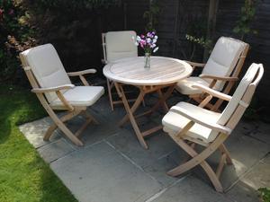 patio set cushions by bramblecrest - Garden Furniture Eastbourne