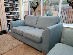 Ex DFS Fabric Sofas Chairs In Stockton On Tees