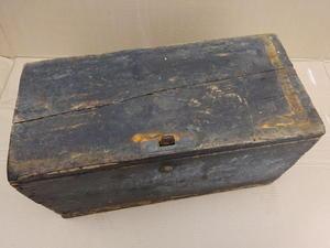 vintage wooden tool box. vintage wooden tool box