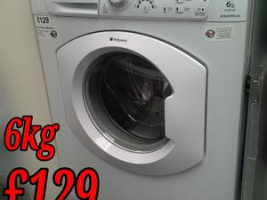 Hotpoint Washing Machine 6kg white in St. Leonards-On-Sea