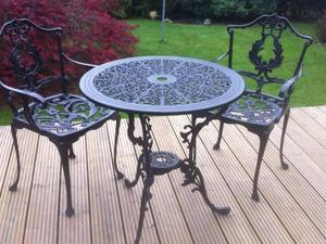 wanted scruffy old ornate metal table and chairs for the garden style similar to the - Garden Furniture Eastbourne