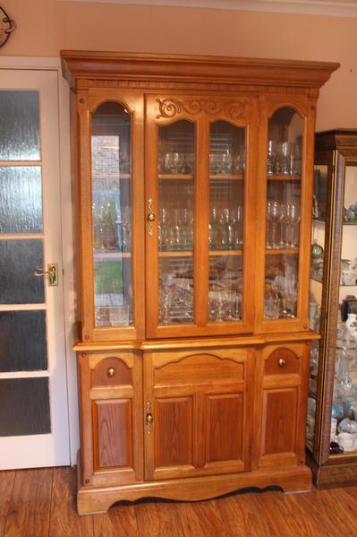 Antique Pine Dining Room Dresser In Uckfield