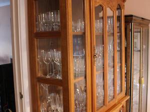 Antique Pine Dining Room Dresser