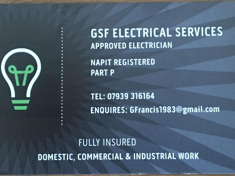 GSF ELECTRICAL SERVICES Eastbourne In
