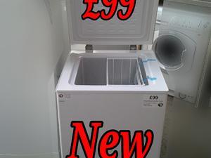 Freezer 50cm Curry's White Box New in St. Leonards-On-Sea