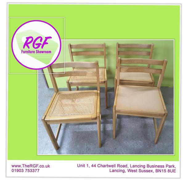4 Chairs For Reupholstery  Local Delivery £19 In Lancing