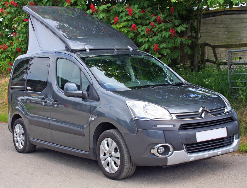 citroen berlingo small micro camper by chapel motorhomes. Black Bedroom Furniture Sets. Home Design Ideas