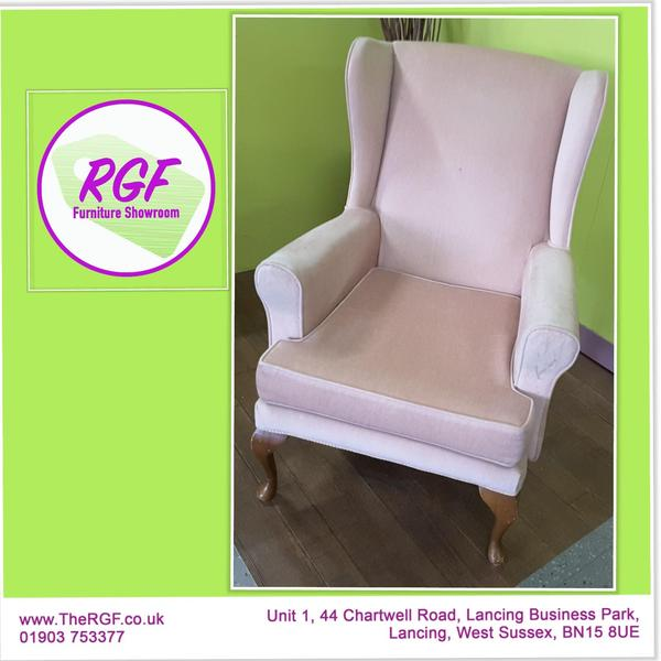 Wingback Chair For Reupholstery Project   Local Delivery £19 In Lancing