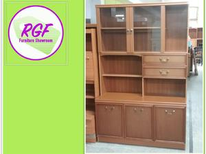 Display Cabinet With Cupboards & Drawers - Local Delivery £19 in Lancing