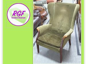Parker Knoll Wingback Chair For Reupholstery Project   Local Delivery £19  In Lancing