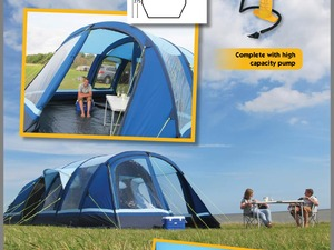 K&a Filey 6 Air tent in Horsham & Second Hand Tents for Sale | Friday-Ad