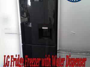 Black LG Fridge Freezer Water Dispenser  in St. Leonards-On-Sea