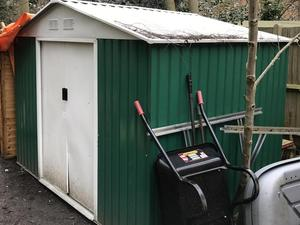 Metal Shed In London
